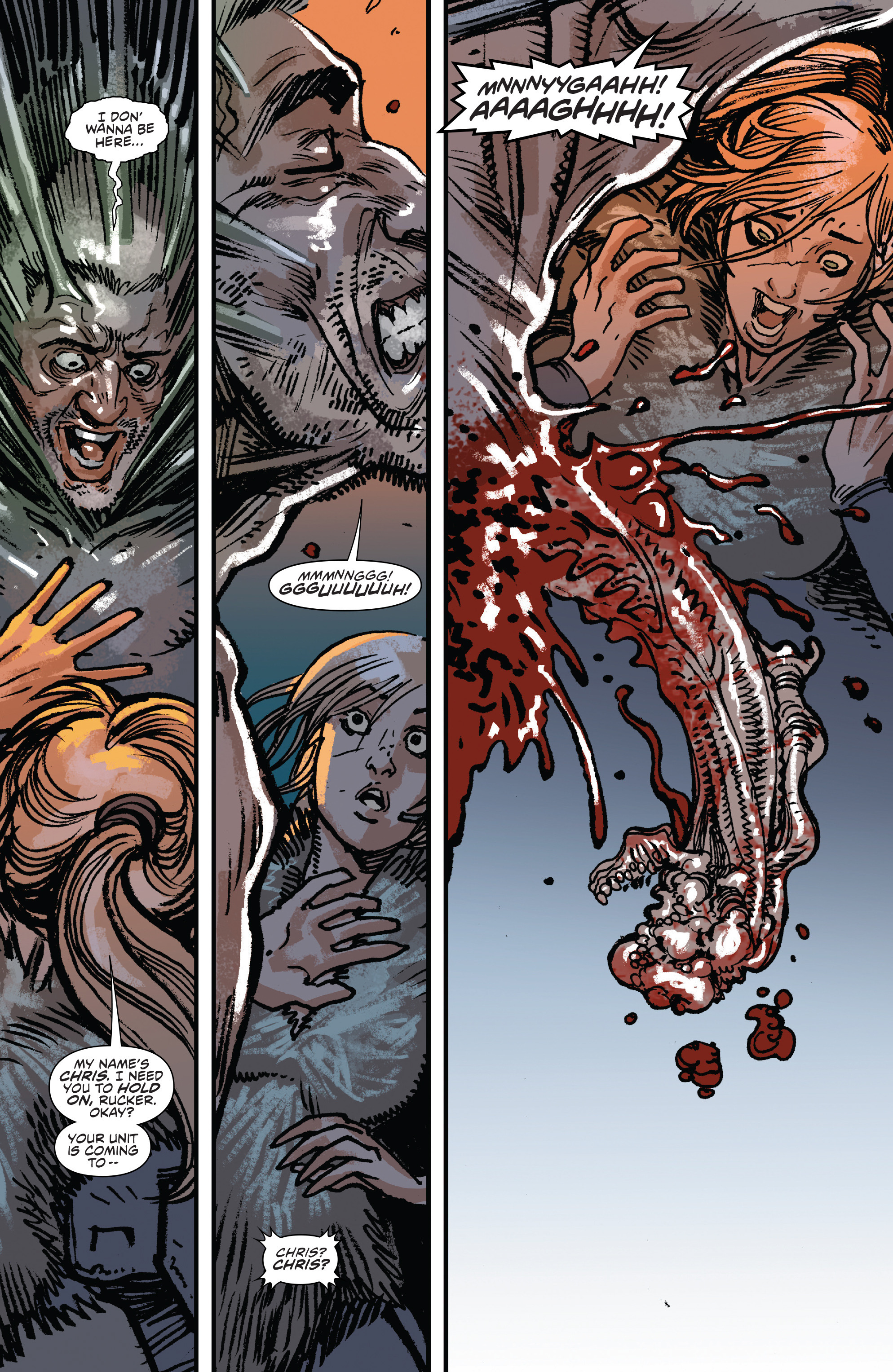 Read online Aliens: Life And Death comic -  Issue #3 - 14