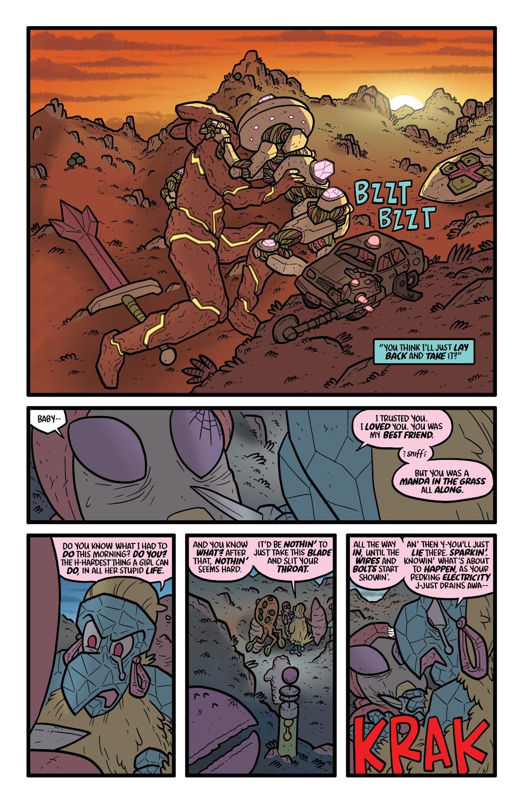 Read online Kaijumax: Season Four comic -  Issue #4 - 21