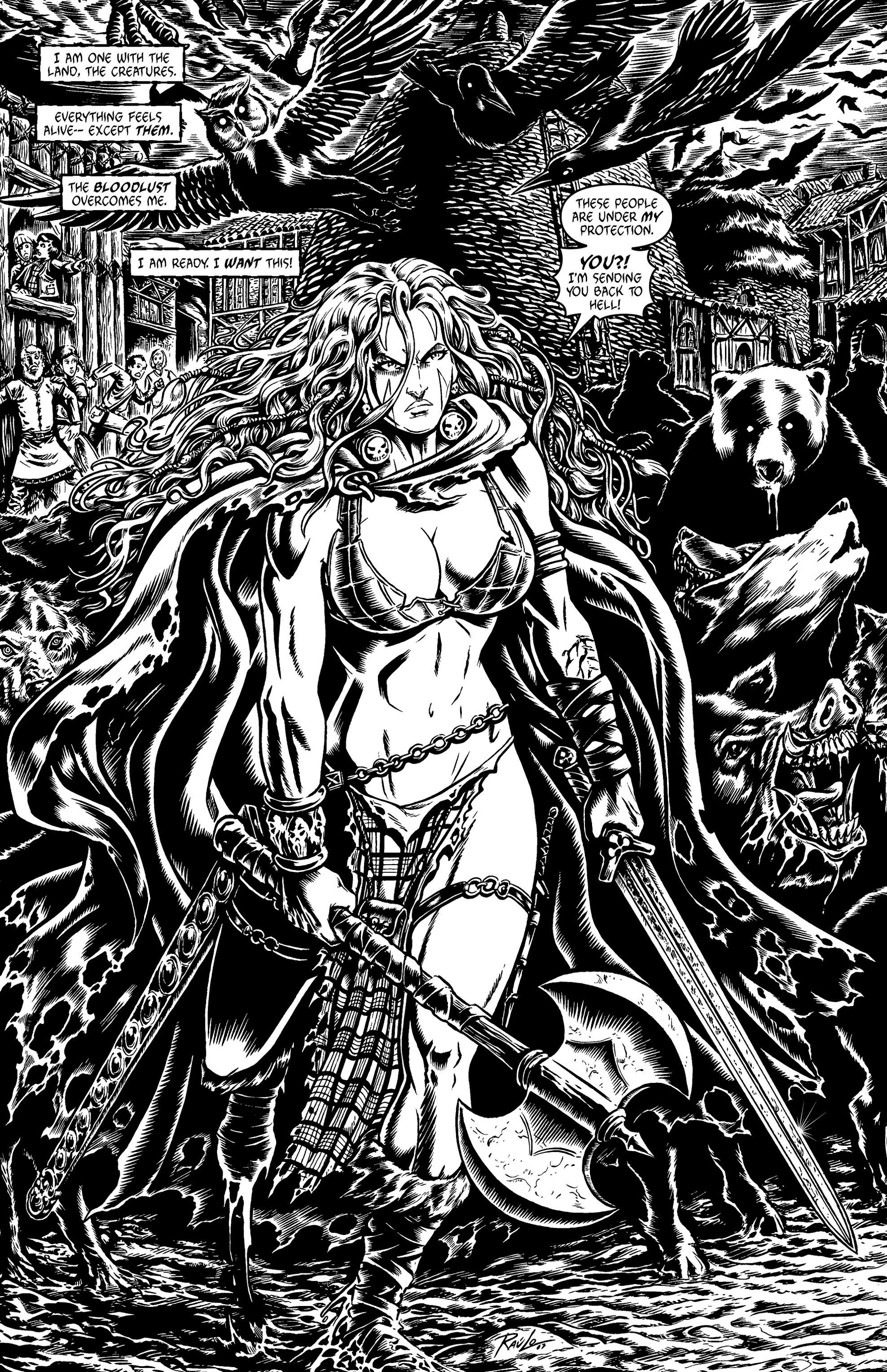 Read online Belladonna: Origins comic -  Issue #1 - 17