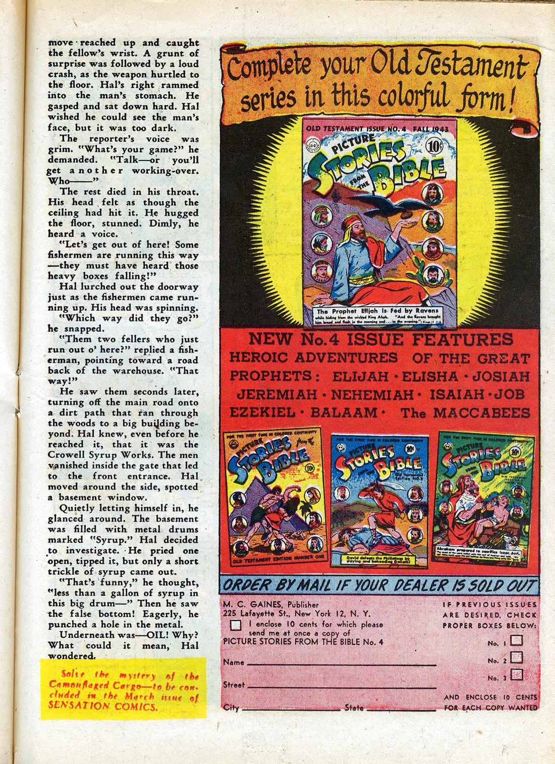 Read online Sensation (Mystery) Comics comic -  Issue #26 - 41