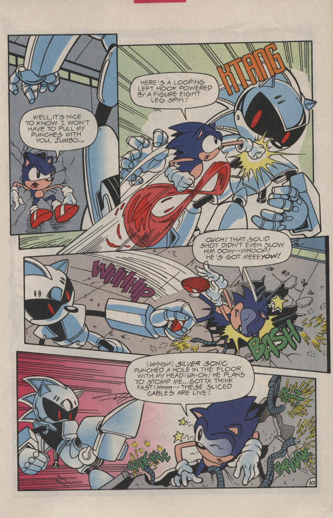 Read online Sonic Quest - The Death Egg Saga comic -  Issue #3 - 15