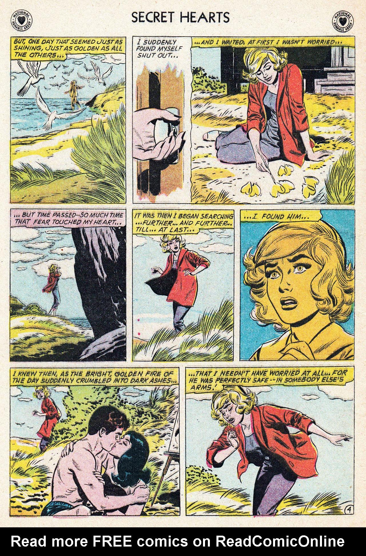 Read online Secret Hearts comic -  Issue #75 - 6