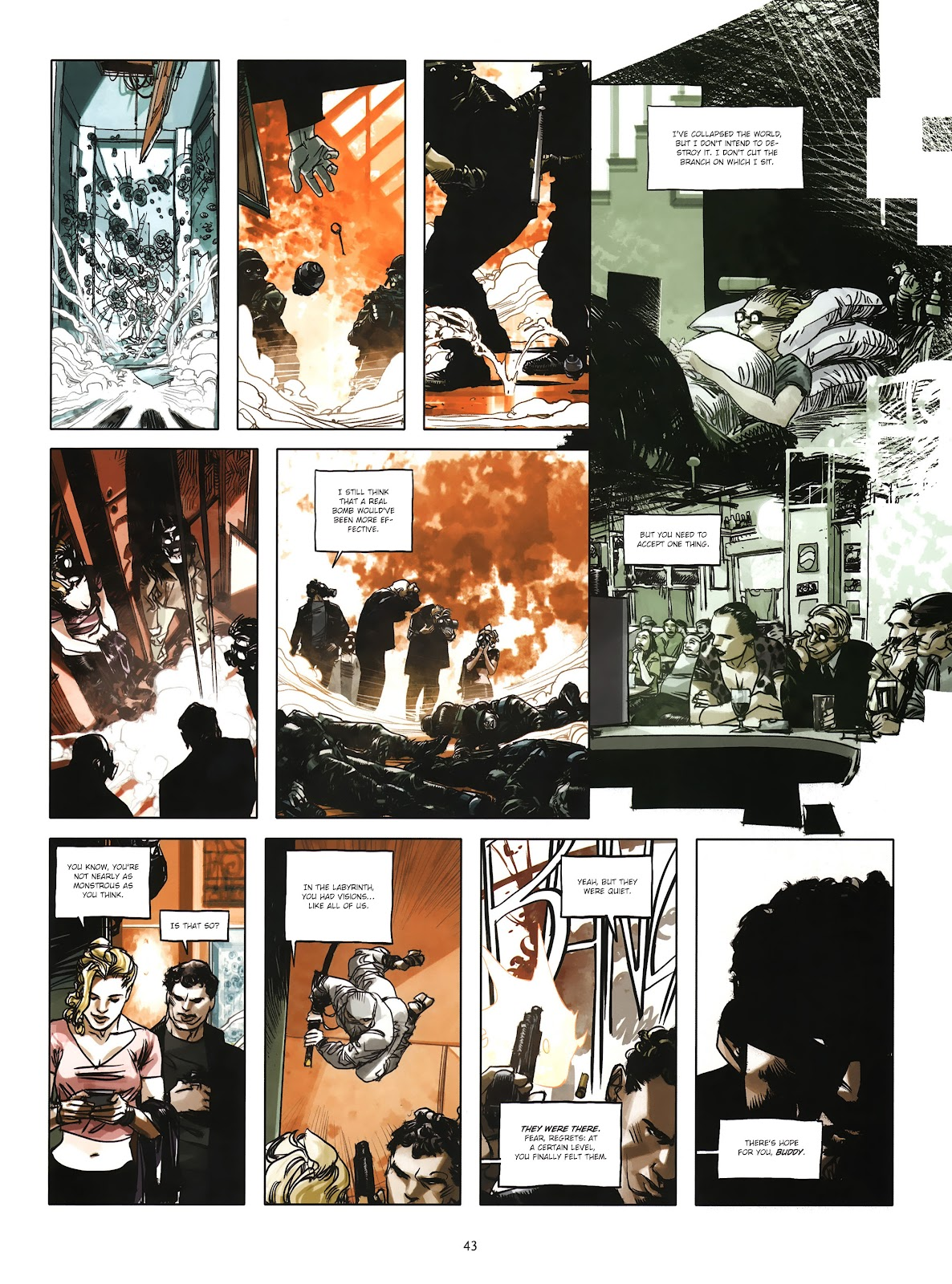 Read online Cutting Edge (2013) comic -  Issue #4 - 32