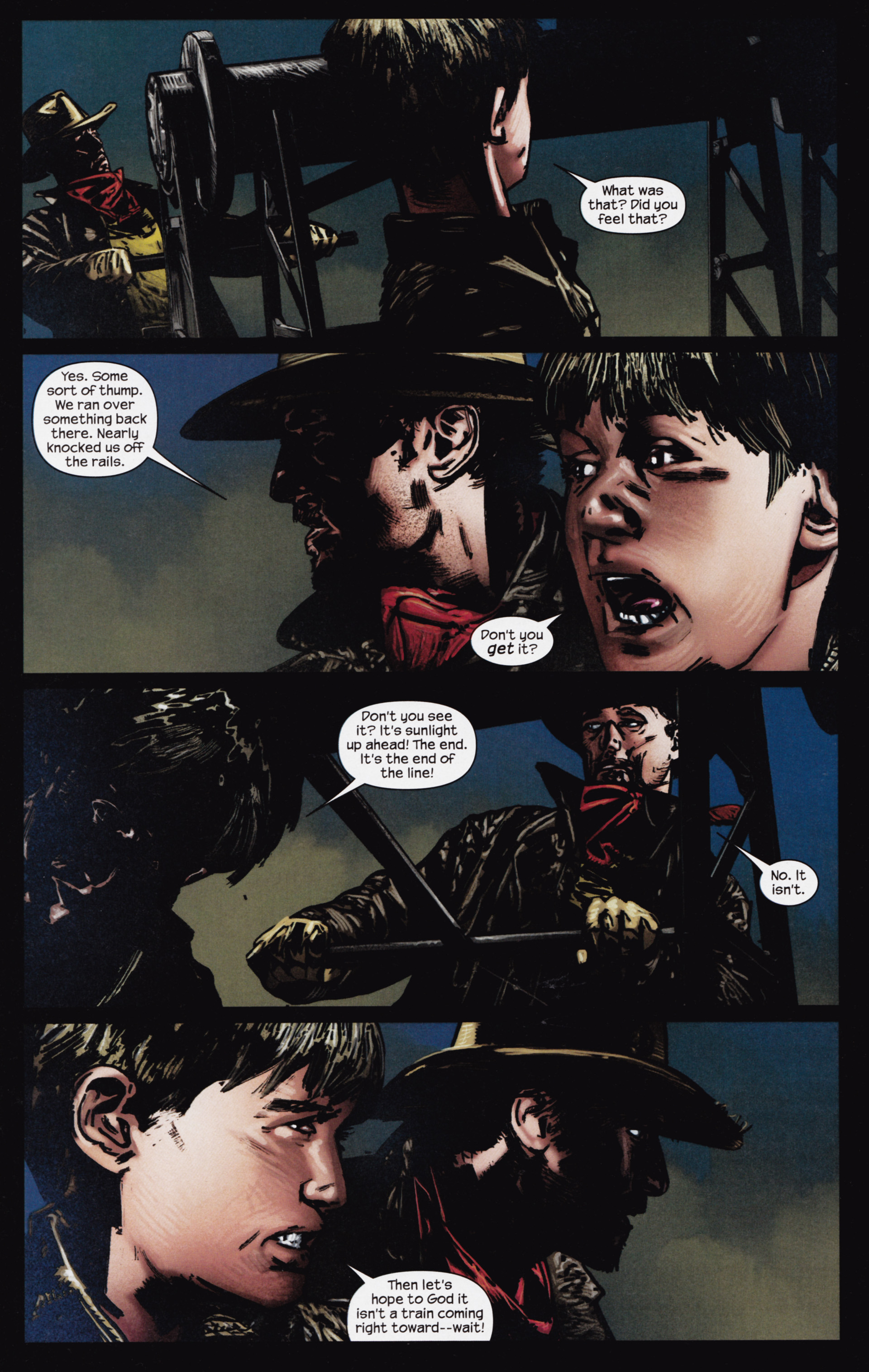 Read online Dark Tower: The Gunslinger - The Man in Black comic -  Issue #3 - 14