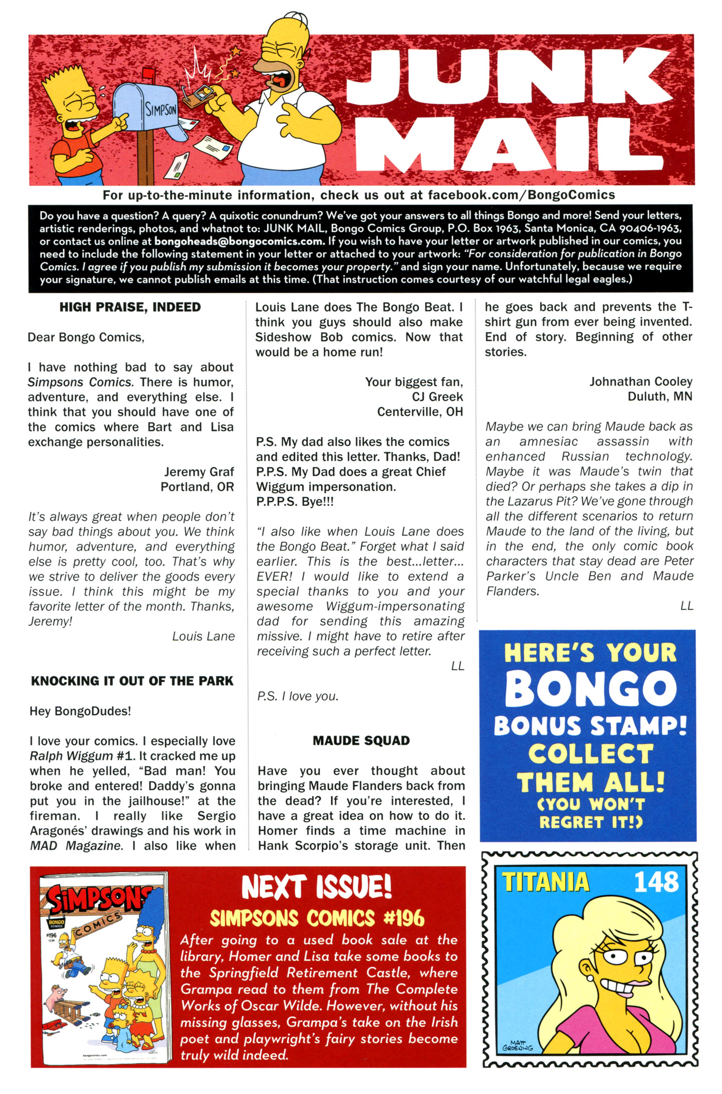 Read online Simpsons Comics comic -  Issue #195 - 29