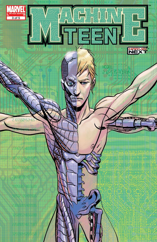 Read online Machine Teen comic -  Issue #3 - 1