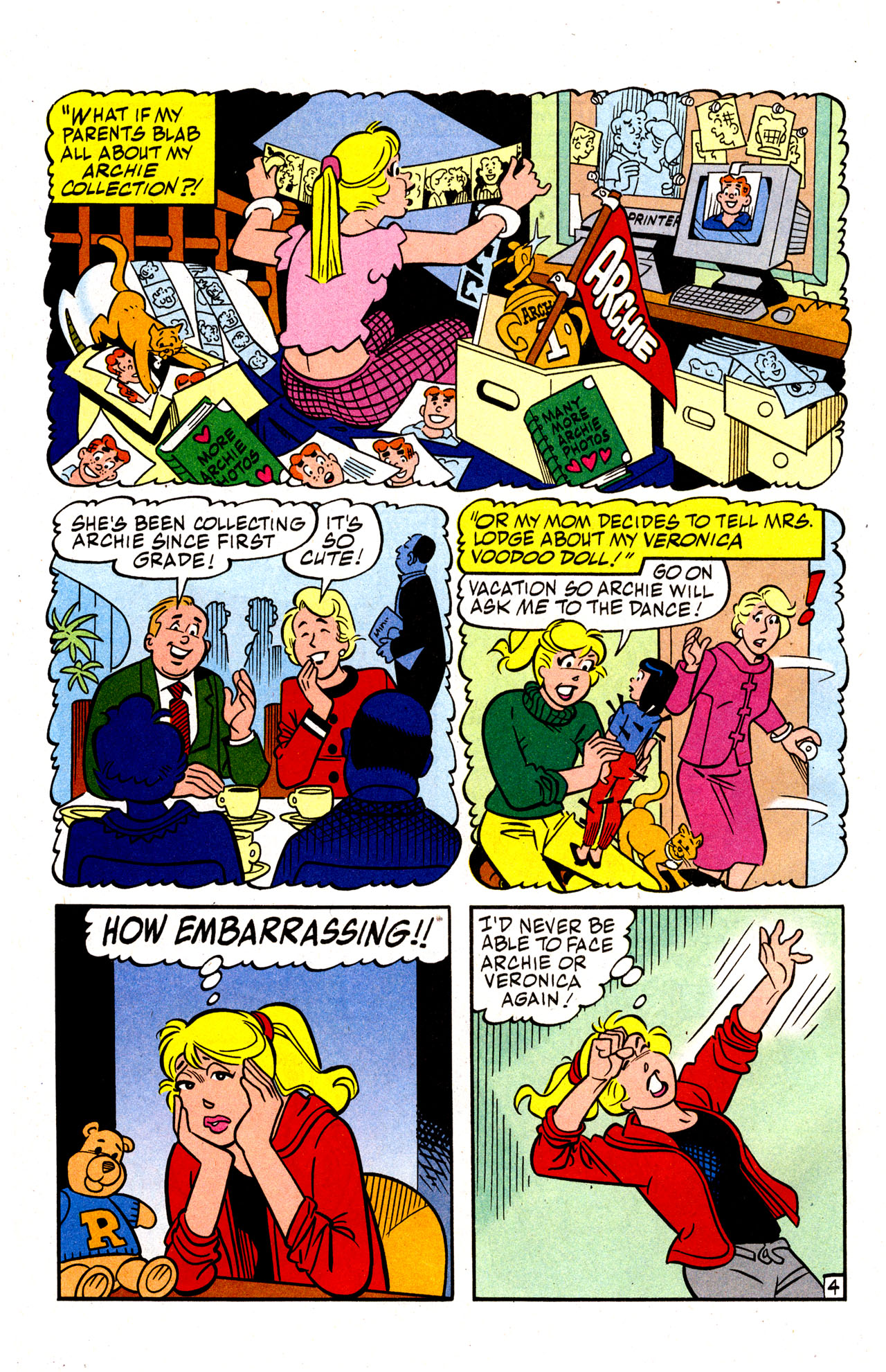Read online Archie (1960) comic -  Issue #574 - 6