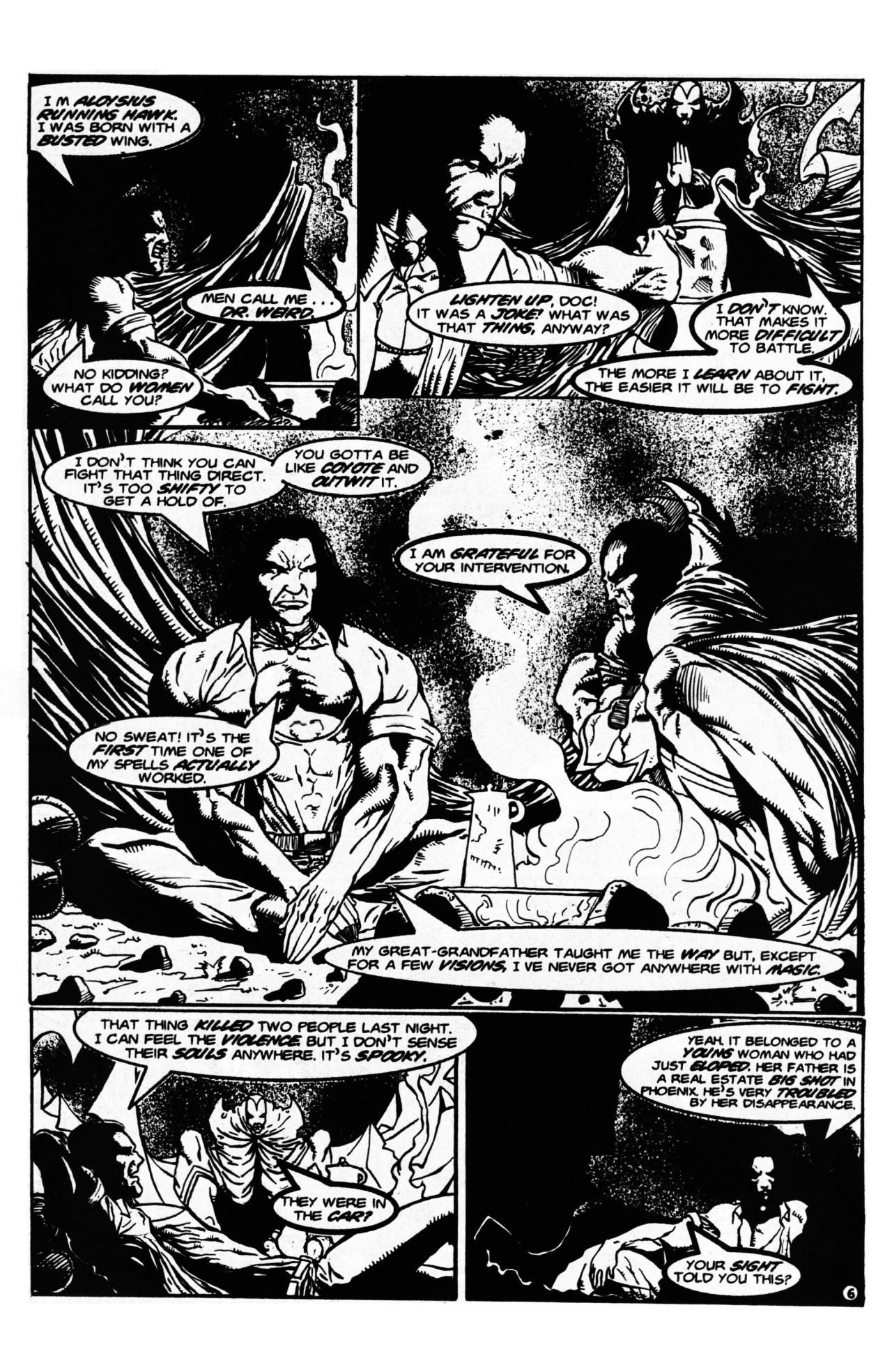 Read online Dr. Weird (1997) comic -  Issue #1 - 8