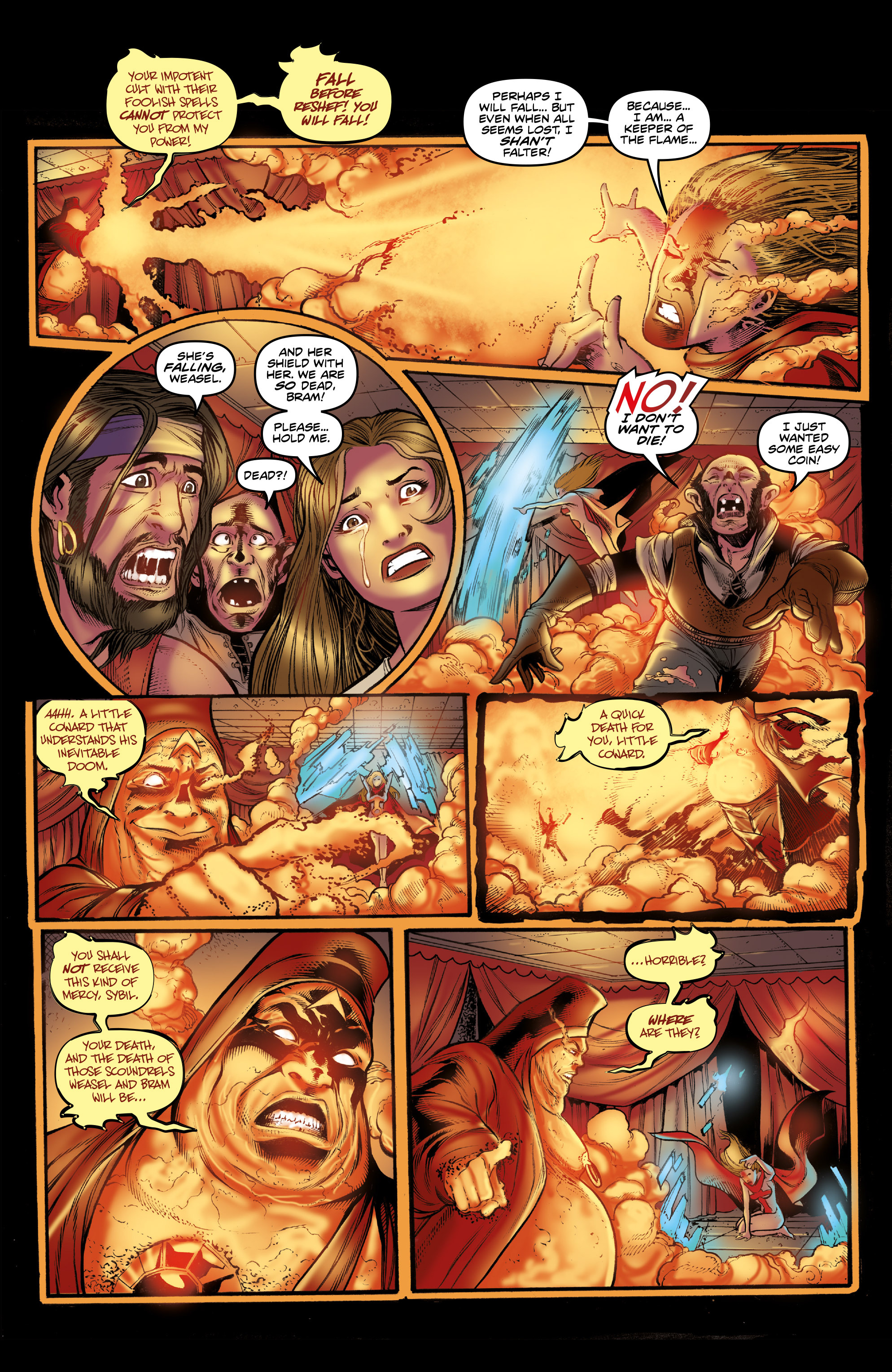 Read online Rogues!: The Burning Heart comic -  Issue #3 - 18