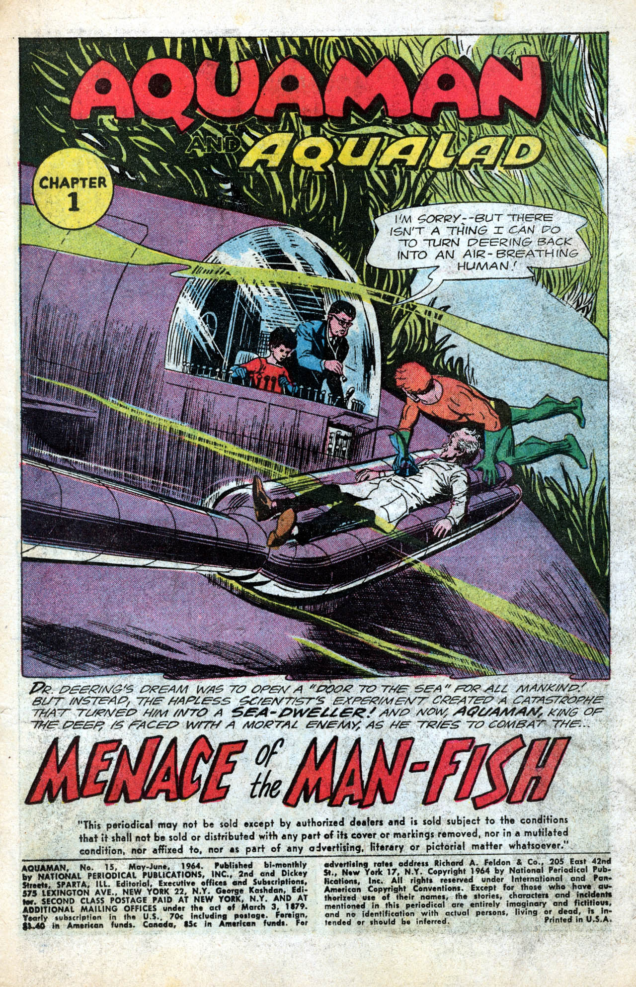 Read online Aquaman (1962) comic -  Issue #15 - 3