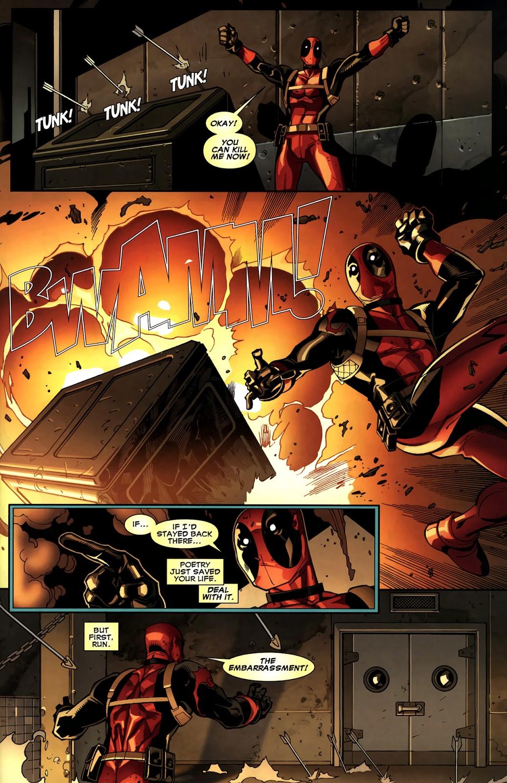 Read online Deadpool (2008) comic -  Issue #11 - 14