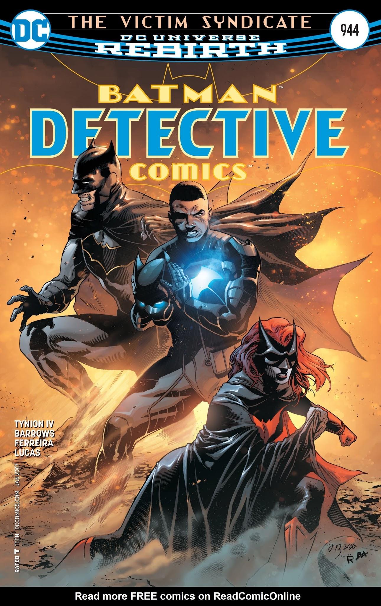 Detective Comics (1937) 944 Page 1