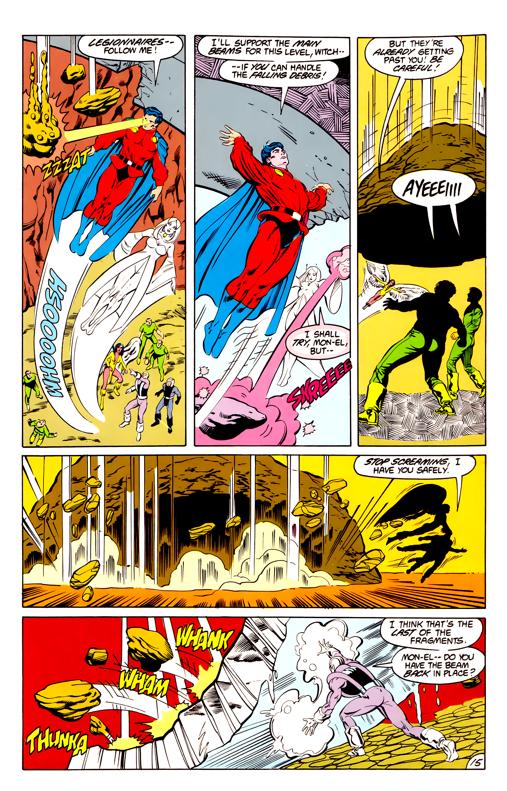 Legion of Super-Heroes (1984) 40 Page 15