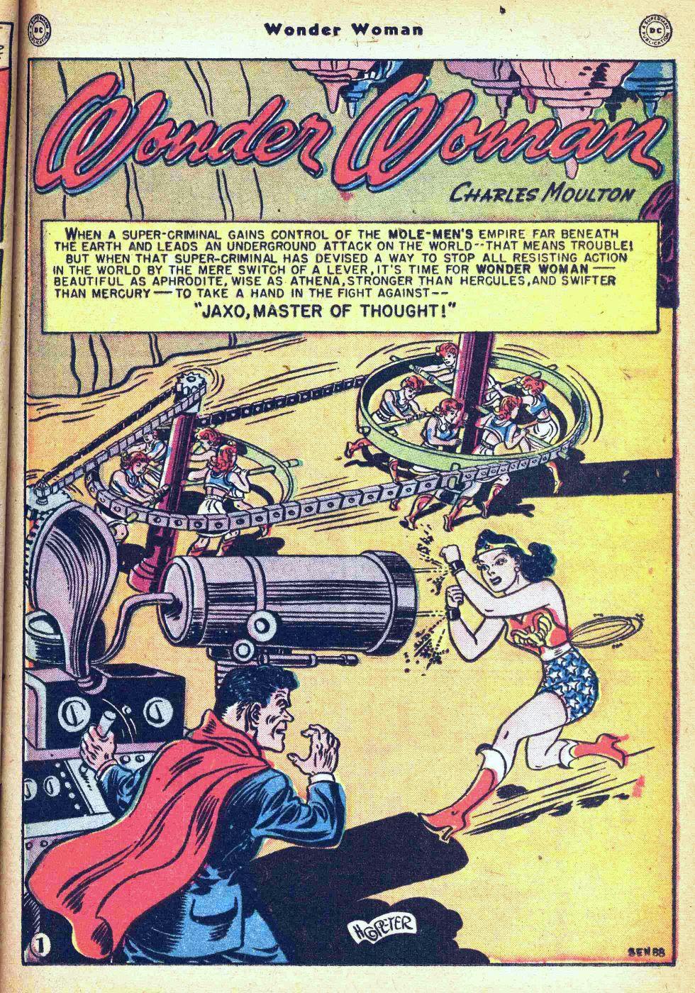 Read online Wonder Woman (1942) comic -  Issue #35 - 17