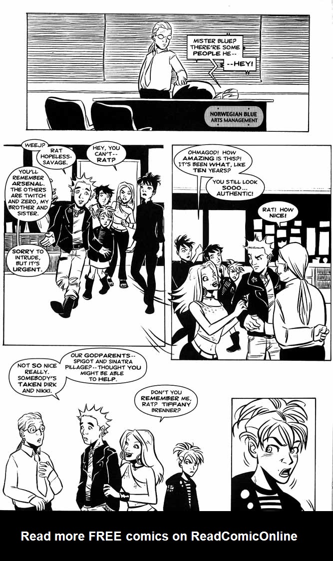 Read online Hopeless Savages comic -  Issue #3 - 4