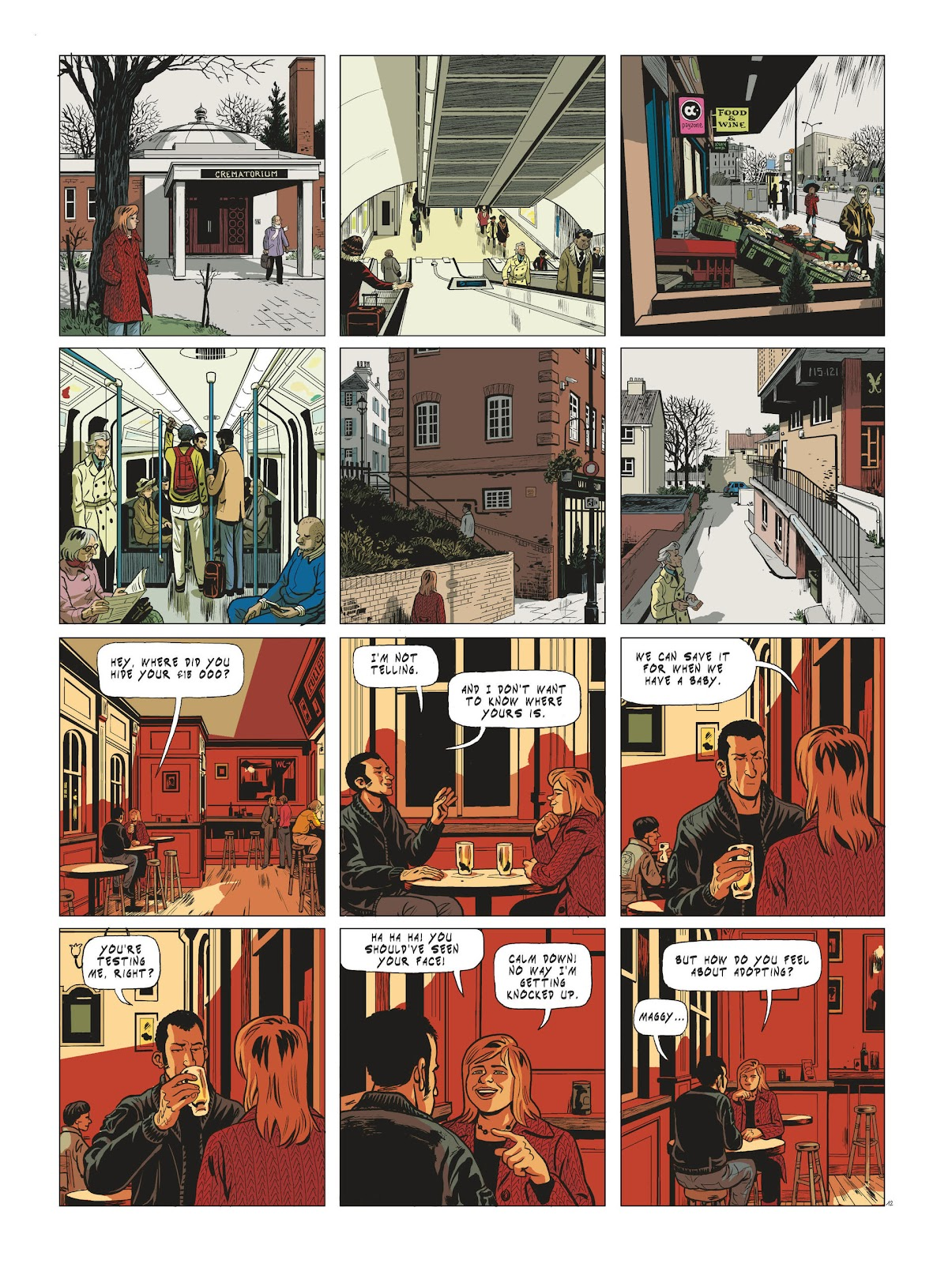 Read online Maggy Garrisson comic -  Issue #3 - 14