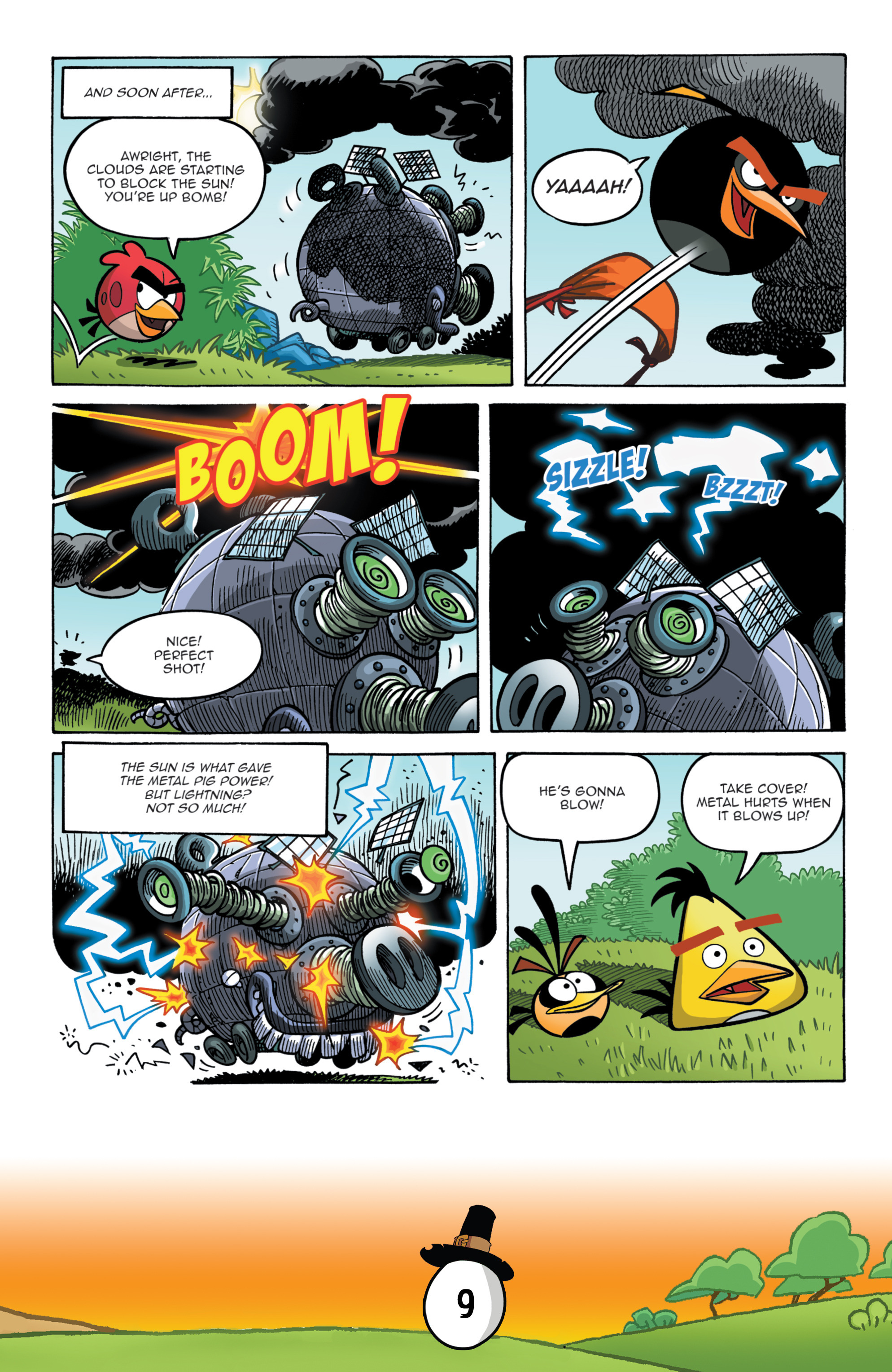 Read online Angry Birds Comics (2016) comic -  Issue #11 - 11