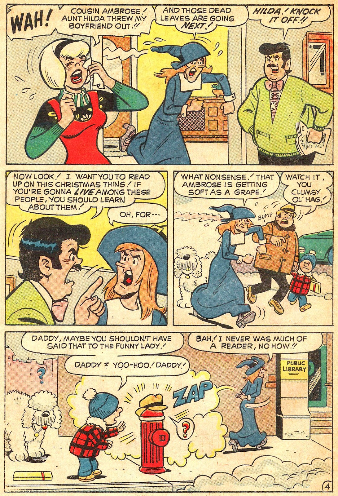 Sabrina The Teenage Witch (1971) Issue #17 #17 - English 6