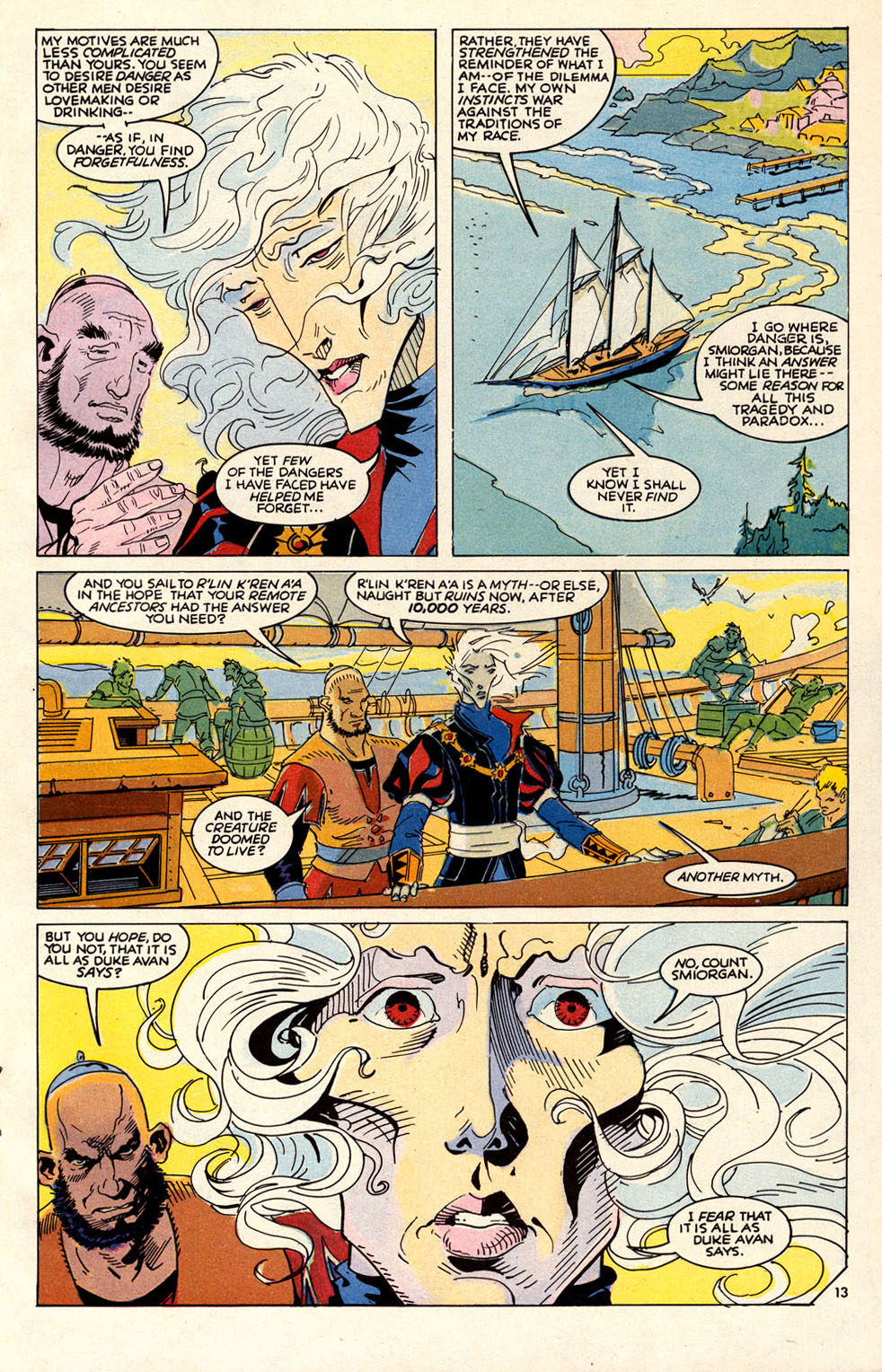 Read online Elric: Sailor on the Seas of Fate comic -  Issue #6 - 16
