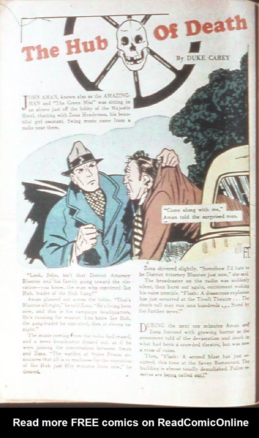 Read online Amazing Man Comics comic -  Issue #18 - 32
