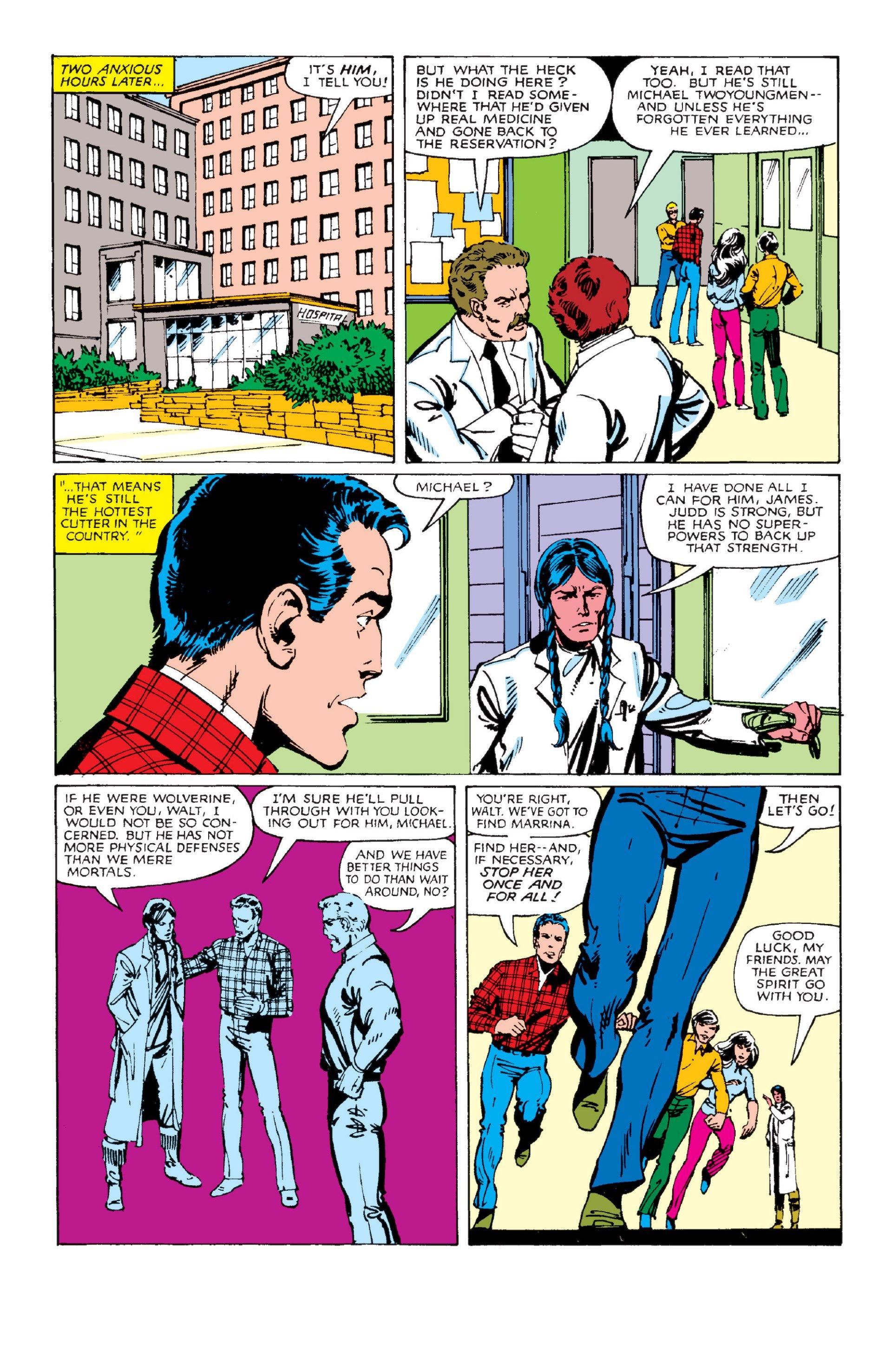Read online Alpha Flight (1983) comic -  Issue #2 - 10