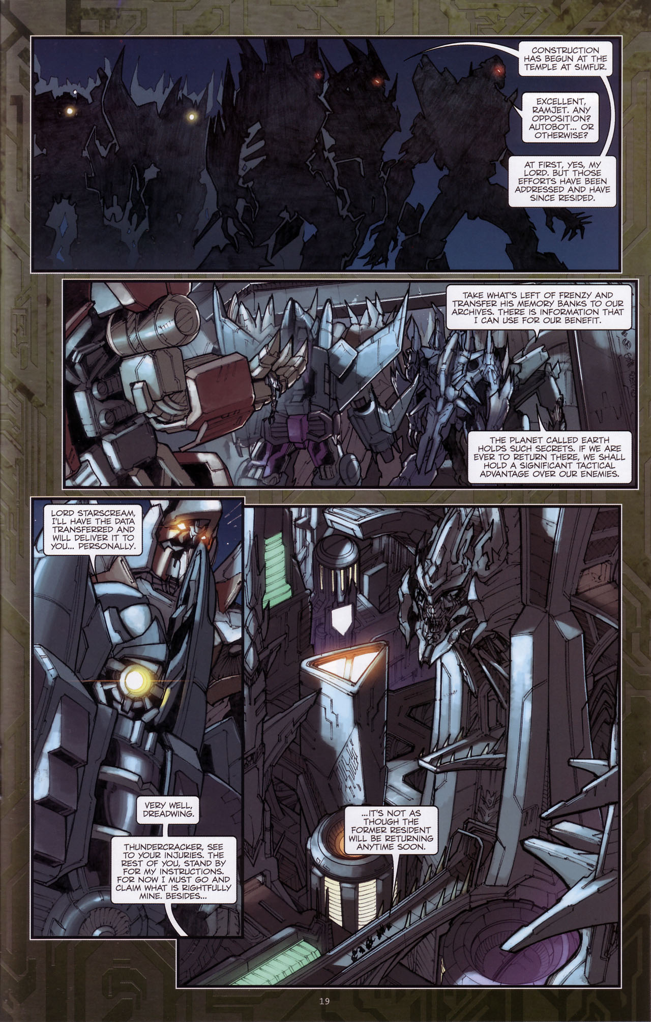 Read online Transformers: The Reign of Starscream comic -  Issue #3 - 20
