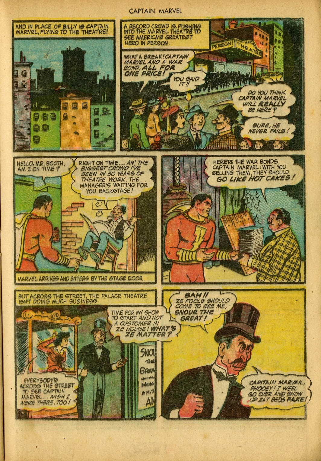 Captain Marvel Adventures issue 34 - Page 37