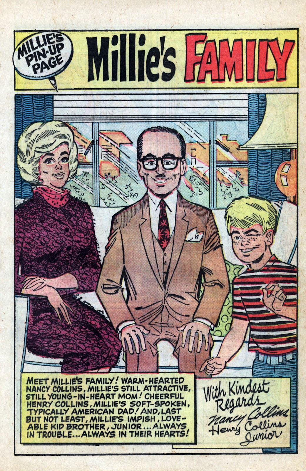 Read online Millie the Model comic -  Issue # Annual 3 - 49