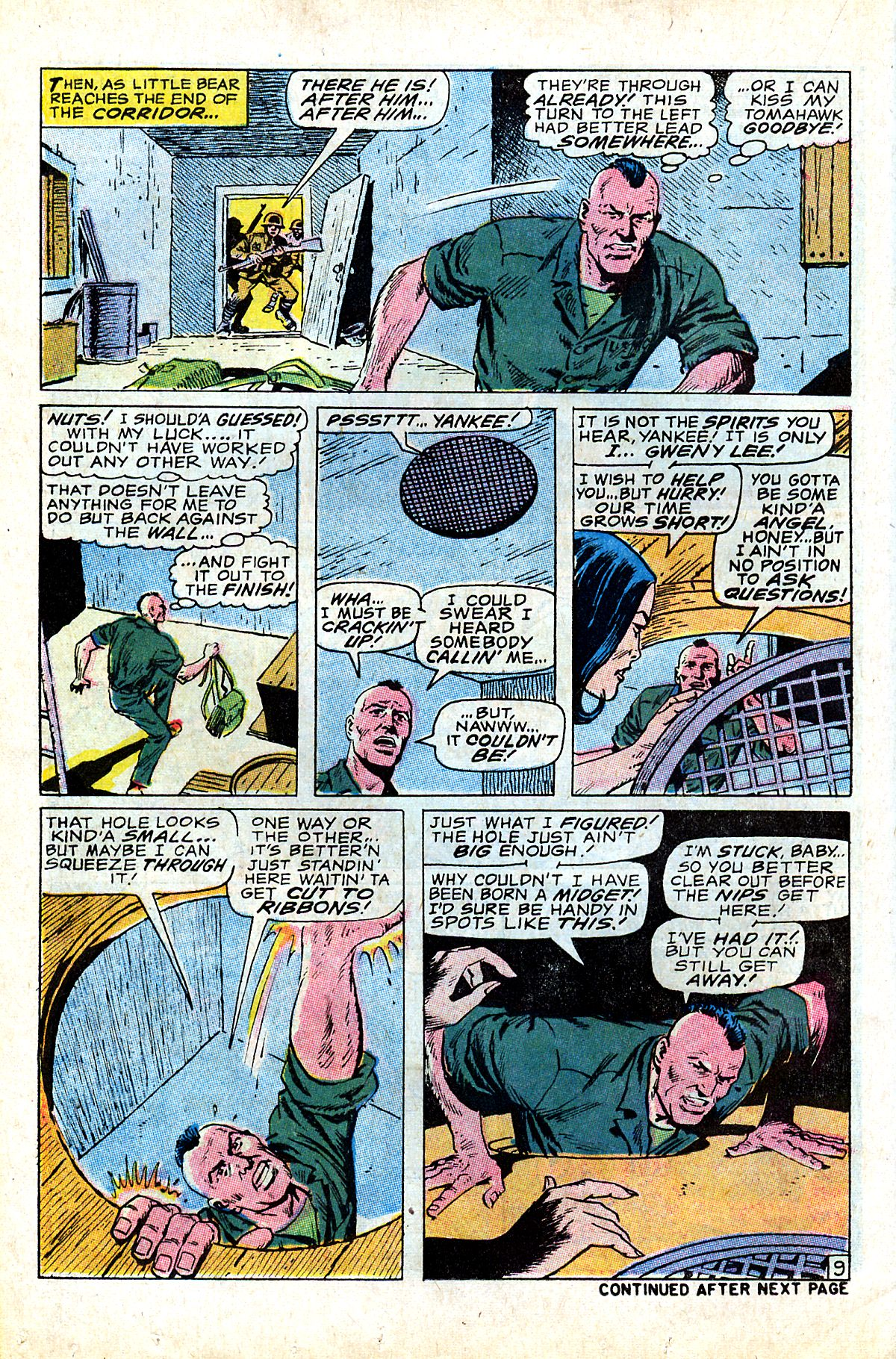 Captain Savage and his Leatherneck Raiders issue 17 - Page 14