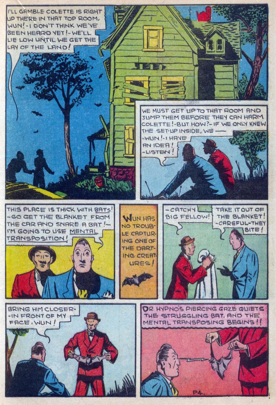 Read online Amazing Man Comics comic -  Issue #15 - 30