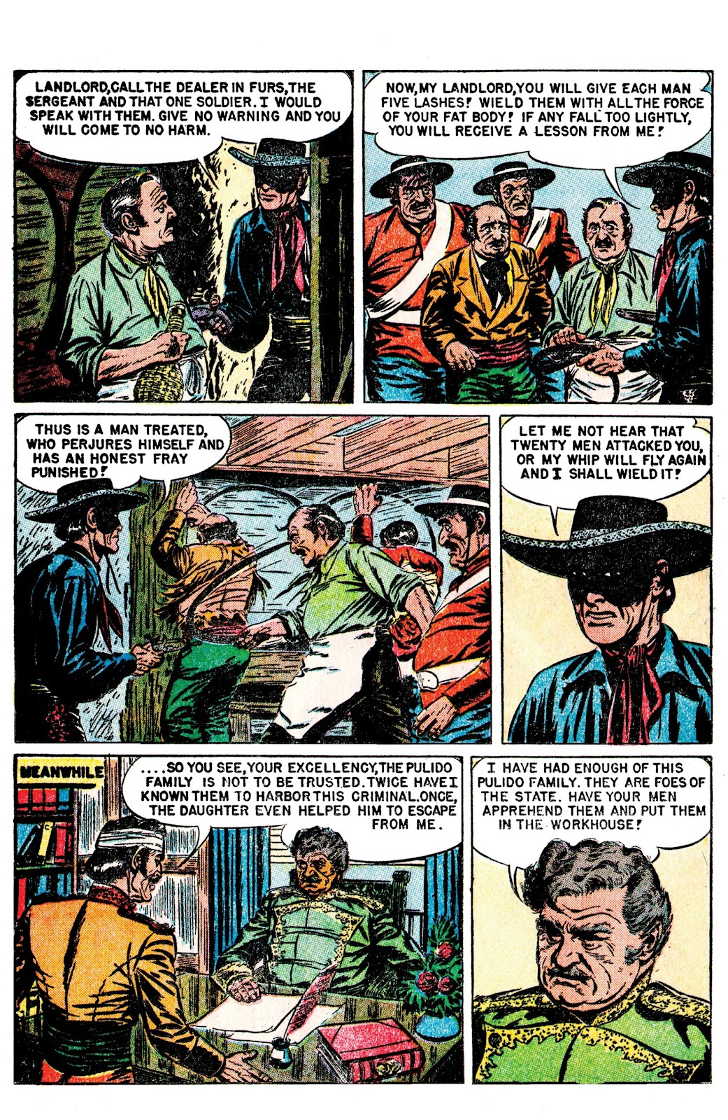 Read online AM Archives: The Mark of Zorro #1 1949 Dell Edition comic -  Issue #1 1949 Dell Edition Full - 24