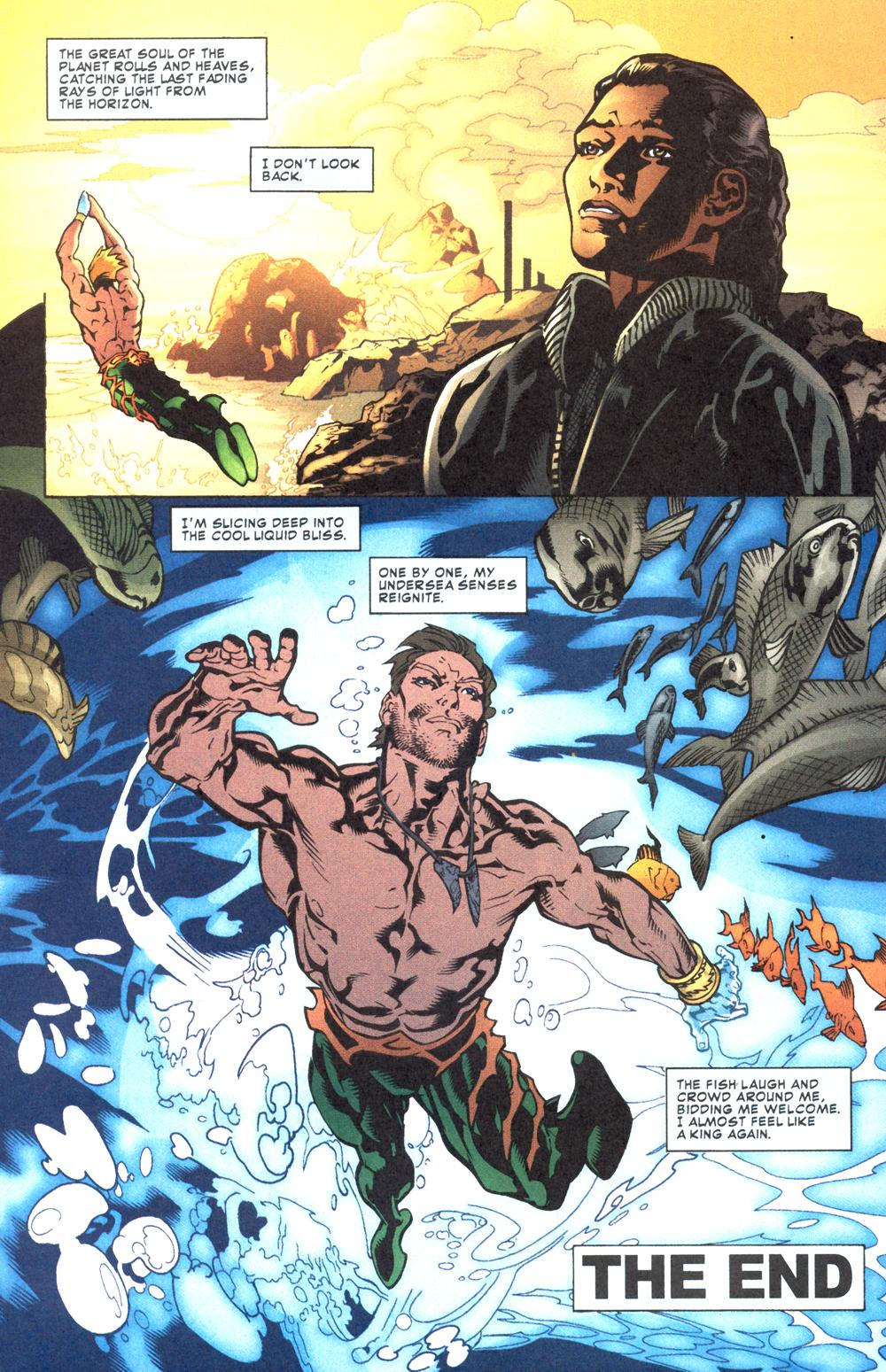 Read online Aquaman (2003) comic -  Issue #12 - 24