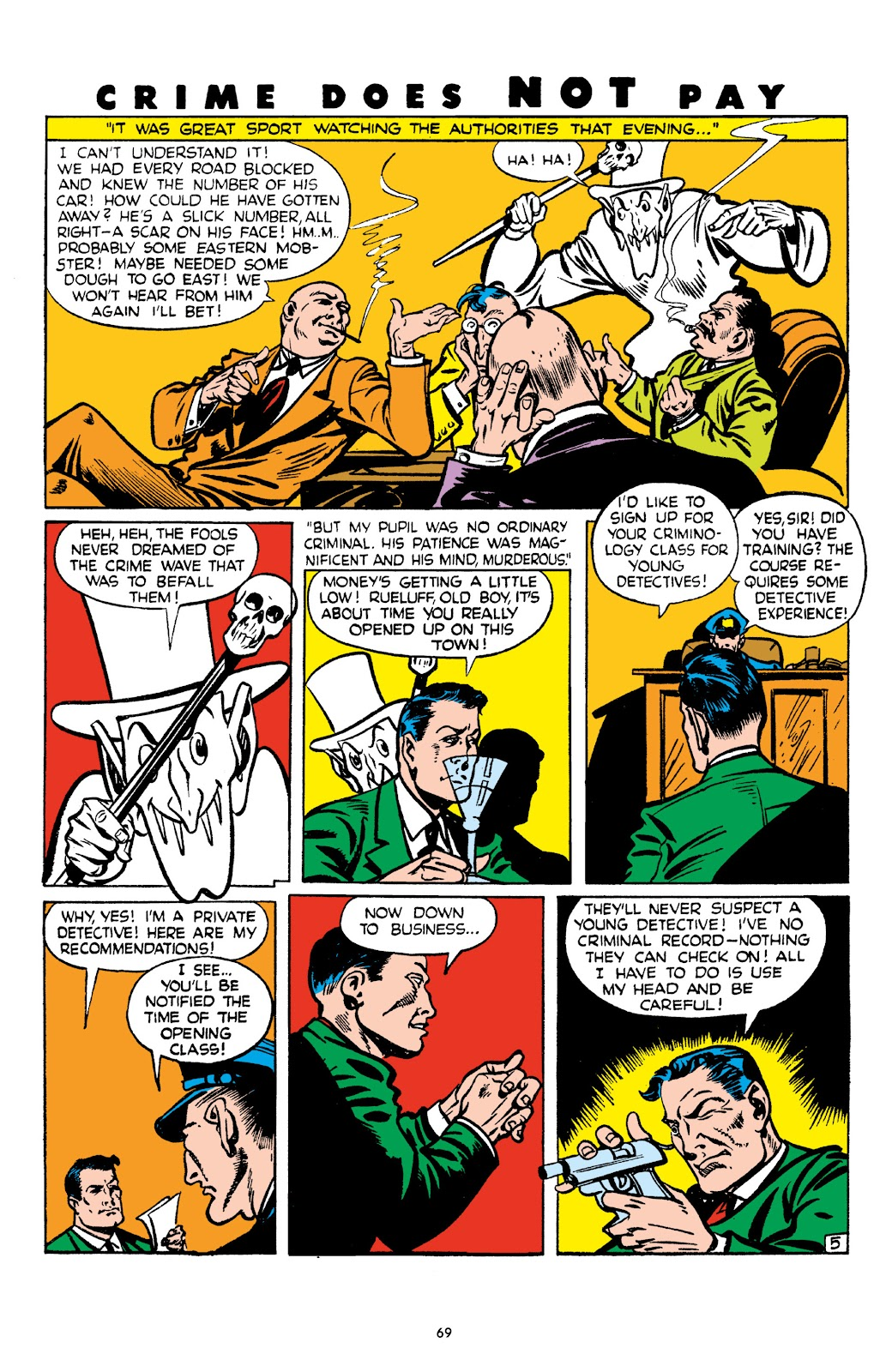 Read online Crime Does Not Pay Archives comic -  Issue # TPB 4 (Part 1) - 69