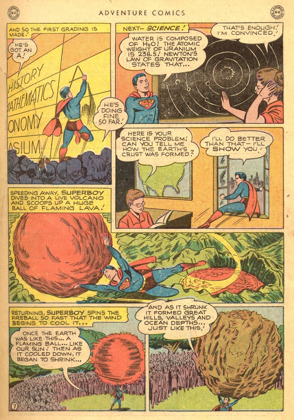 Read online Adventure Comics (1938) comic -  Issue #133 - 9