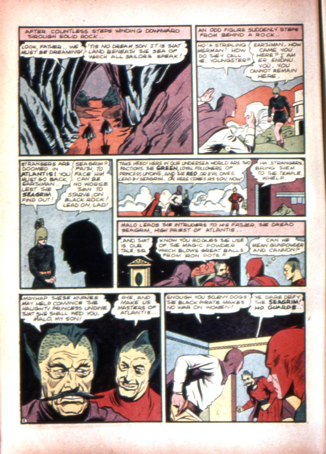 Read online Sensation (Mystery) Comics comic -  Issue #20 - 18