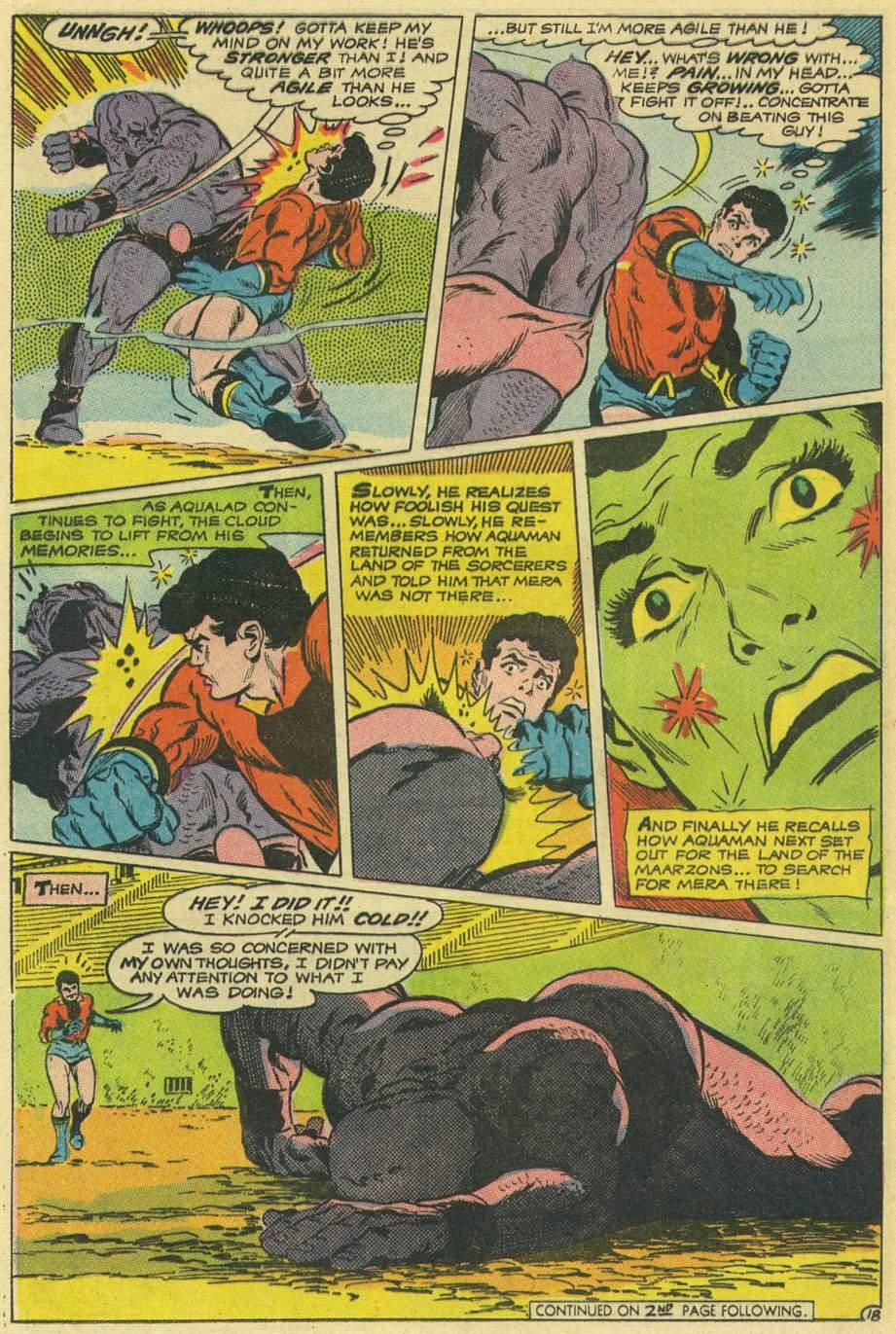 Read online Aquaman (1962) comic -  Issue #43 - 24