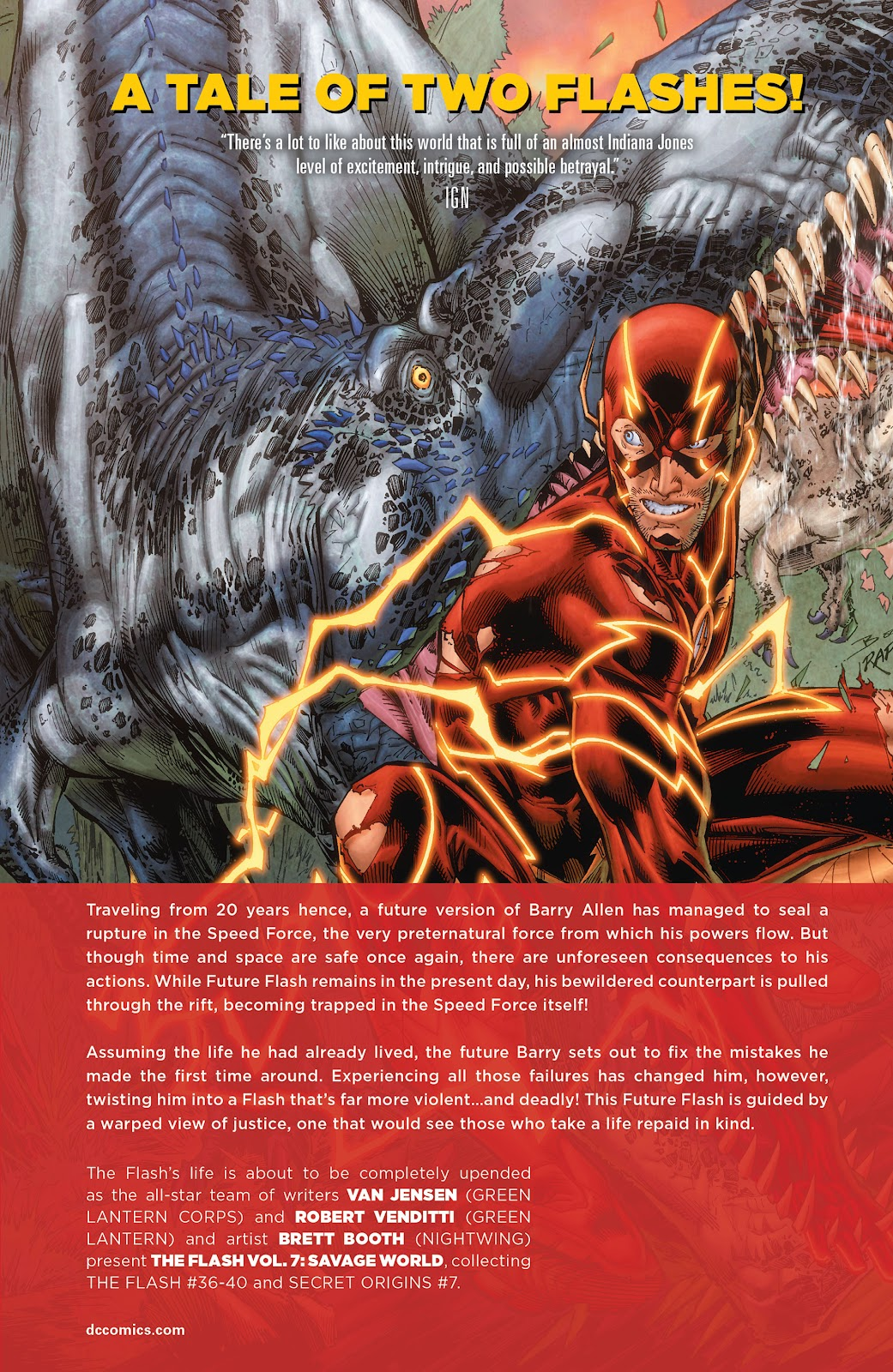 Read online The Flash (2011) comic -  Issue # _TPB 7 - 142
