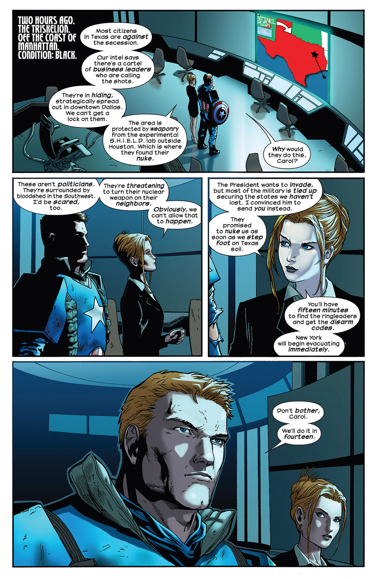 Read online Ultimate Comics Ultimates comic -  Issue #14 - 6