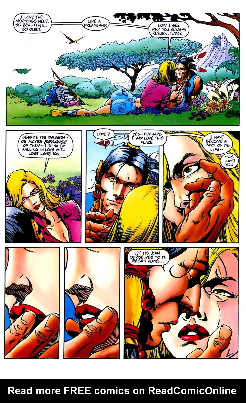 Read online Turok, Dinosaur Hunter (1993) comic -  Issue #37 - 4