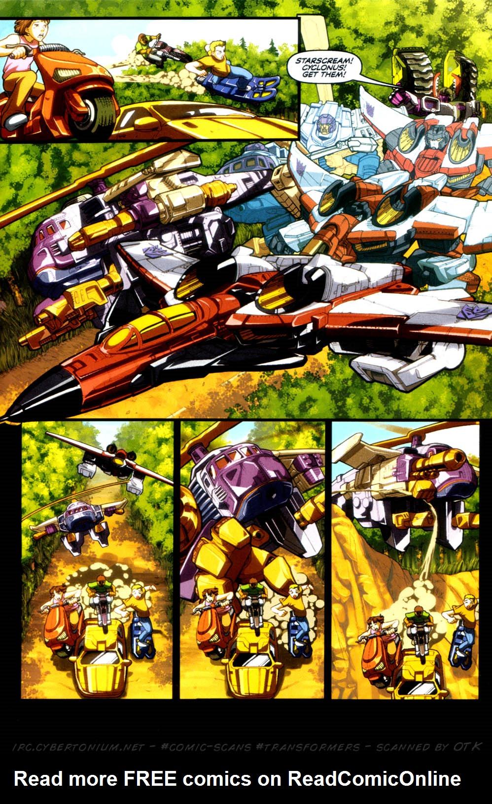 Read online Transformers Armada comic -  Issue #4 - 20