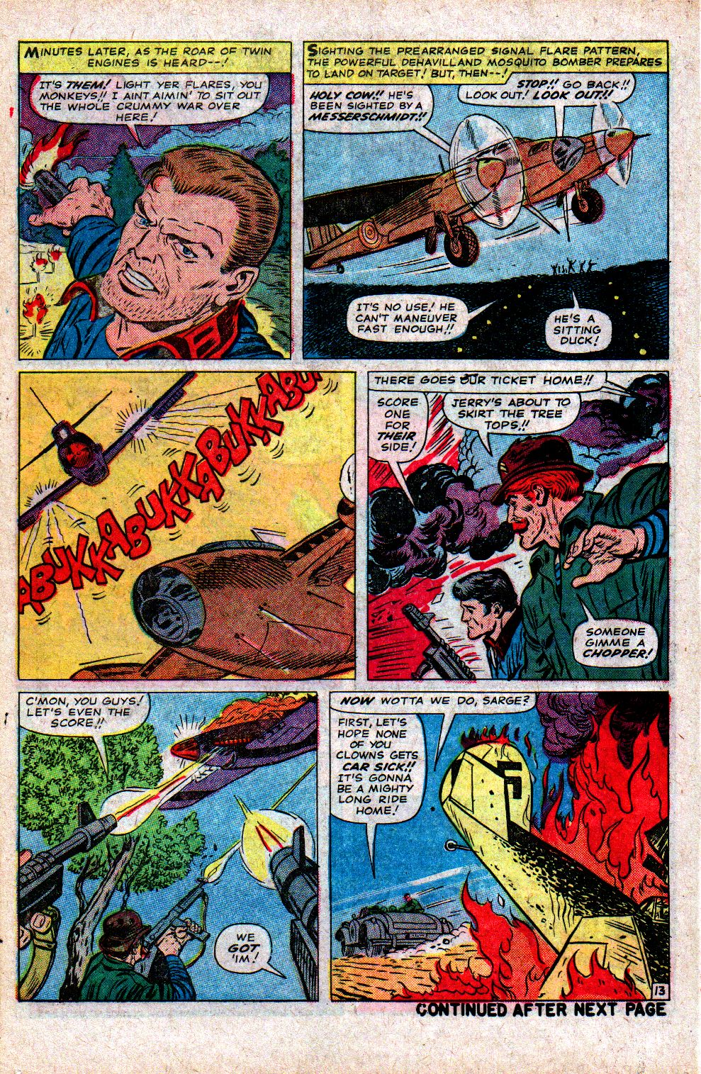 Read online Sgt. Fury comic -  Issue #21 - 18