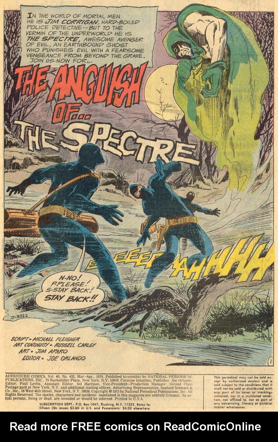 Read online Adventure Comics (1938) comic -  Issue #432 - 2