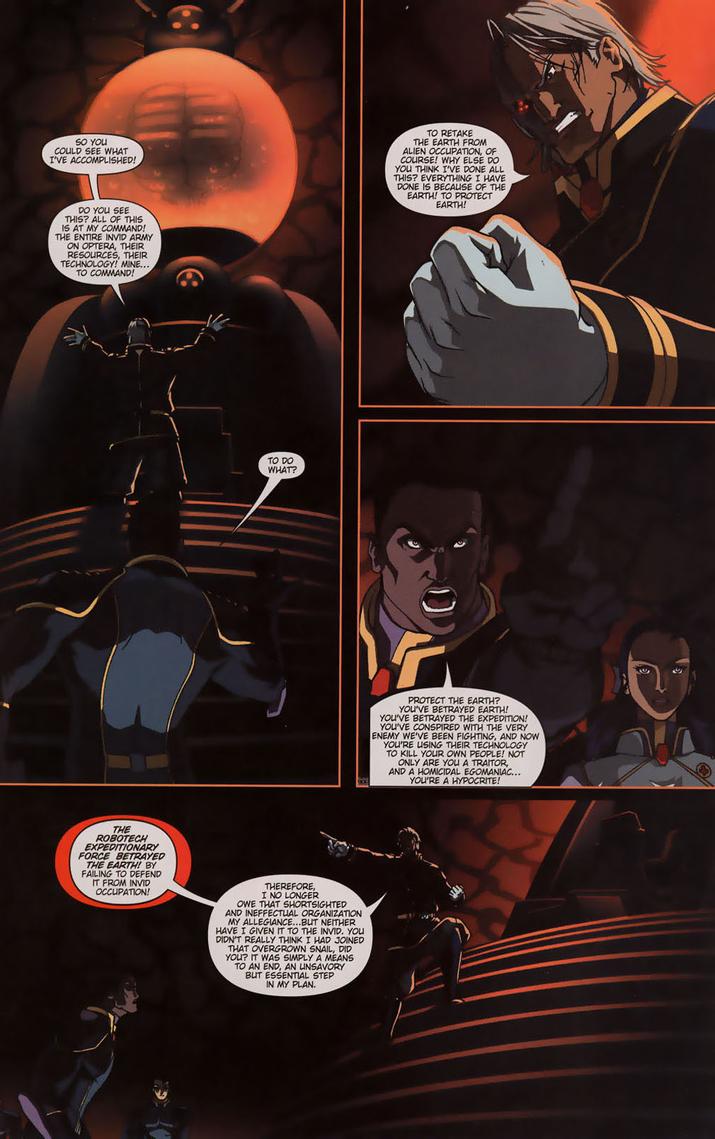 Read online Robotech: Prelude to the Shadow Chronicles comic -  Issue #3 - 15