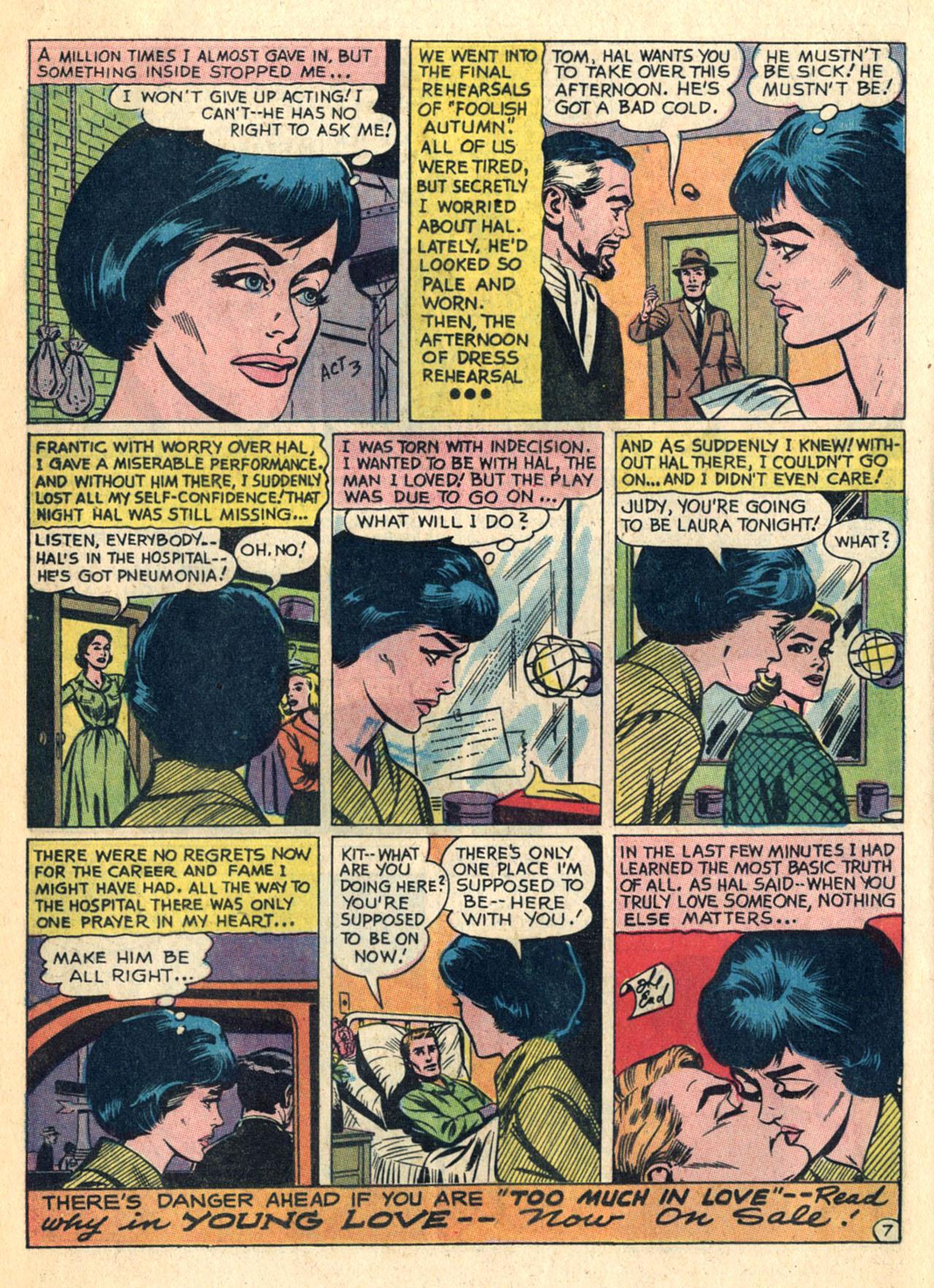 Read online Secret Hearts comic -  Issue #110 - 16