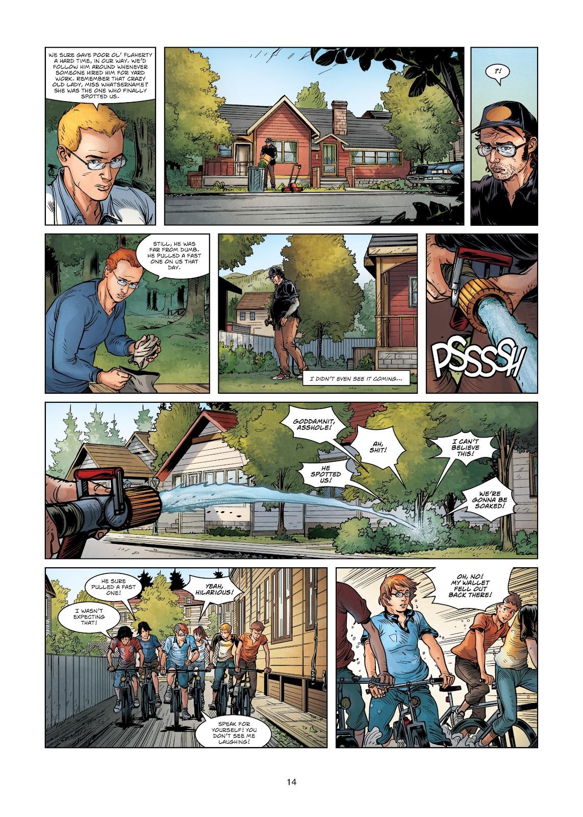 Read online Vigilantes comic -  Issue #3 - 14