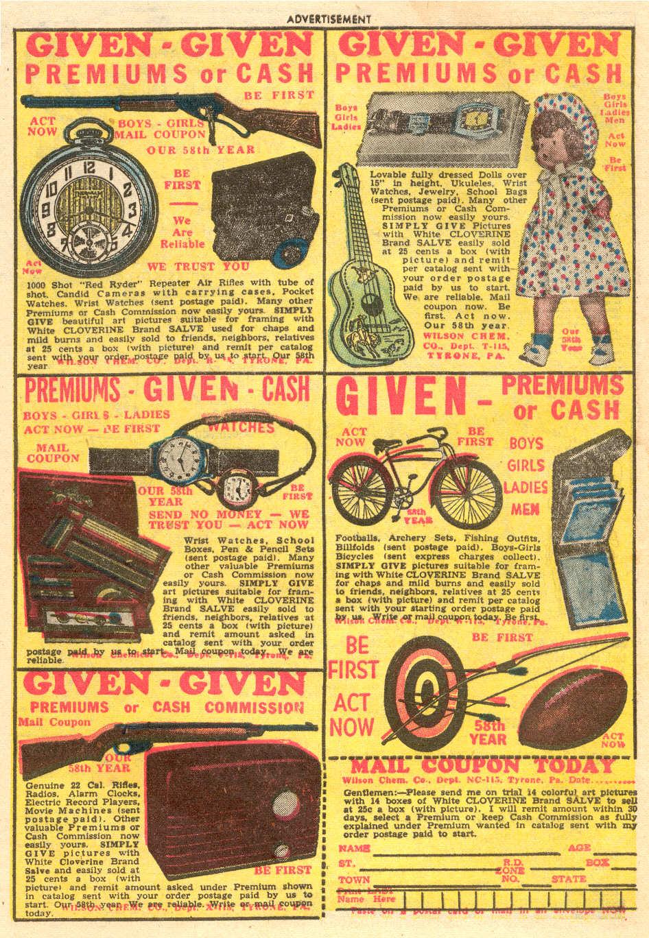 Read online Adventure Comics (1938) comic -  Issue #186 - 41