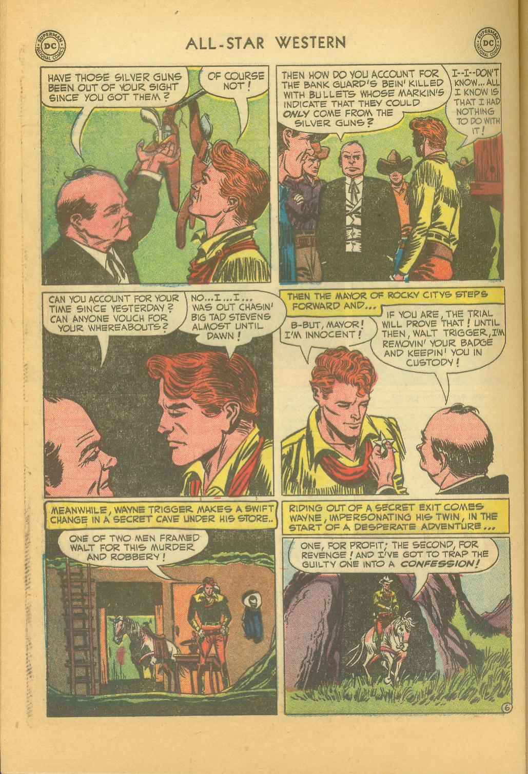 Read online All-Star Western (1951) comic -  Issue #61 - 36