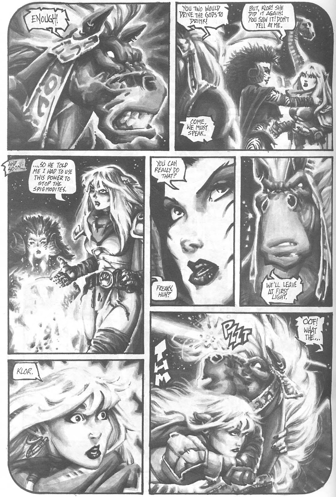 Read online Animal Mystic comic -  Issue #4 - 32