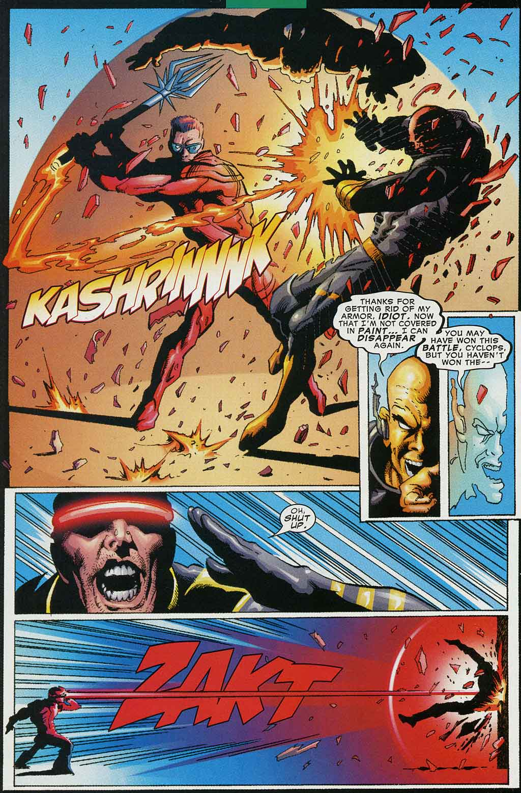 Read online Cyclops (2001) comic -  Issue #4 - 20