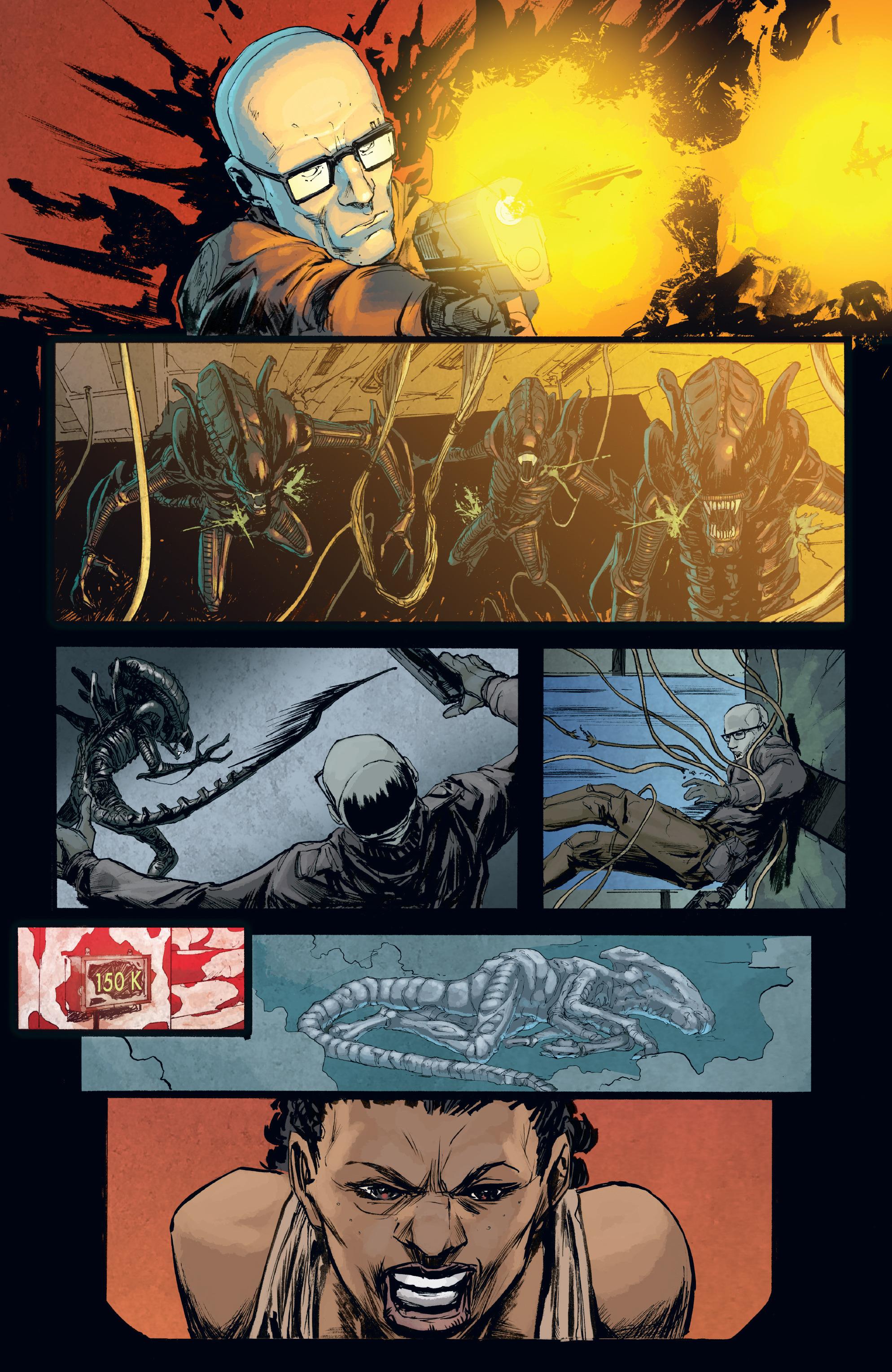 Read online Aliens: Defiance comic -  Issue #8 - 19